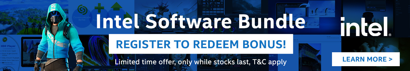Intel Software Bundle Bonus