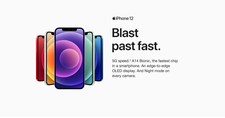 Apple iPhone 12 Purple Header