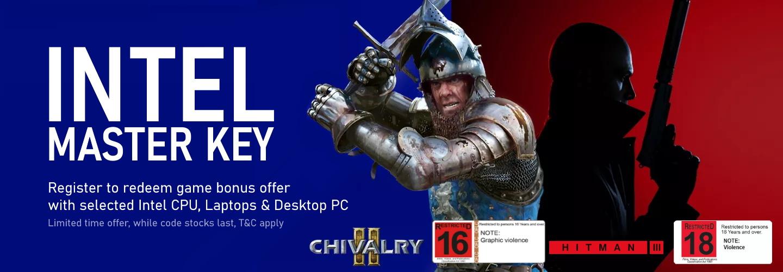 Picture of Intel Master Key Hitman 3 Chivalry 2 at PB Tech