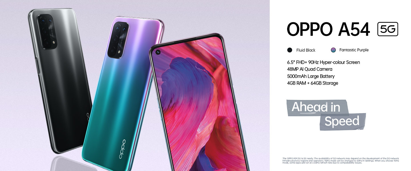Oppo A54 5G Mobile Phone
