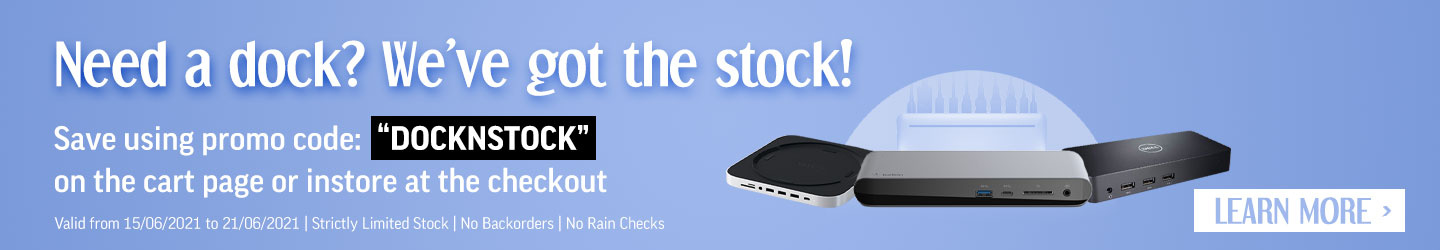 Learn more about saving on Docking Stations