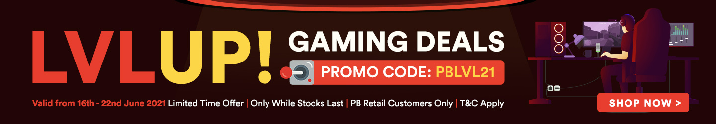 Picture of LEVEL UP! Gaming Deals at PB Tech New Zealand
