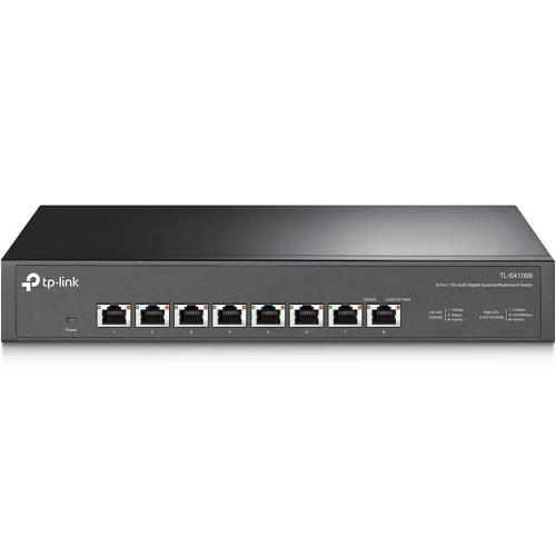 TP-Link TL-SX1008 8-Port 10G Unmanaged Desktop/Rackmount Switch