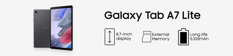 Galaxy Tablet Tab A7 Lite