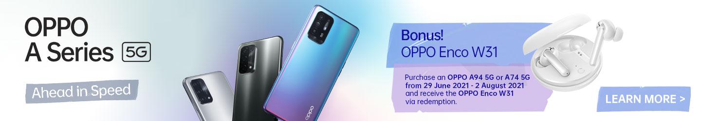 Oppo A Series 5G bonus offer