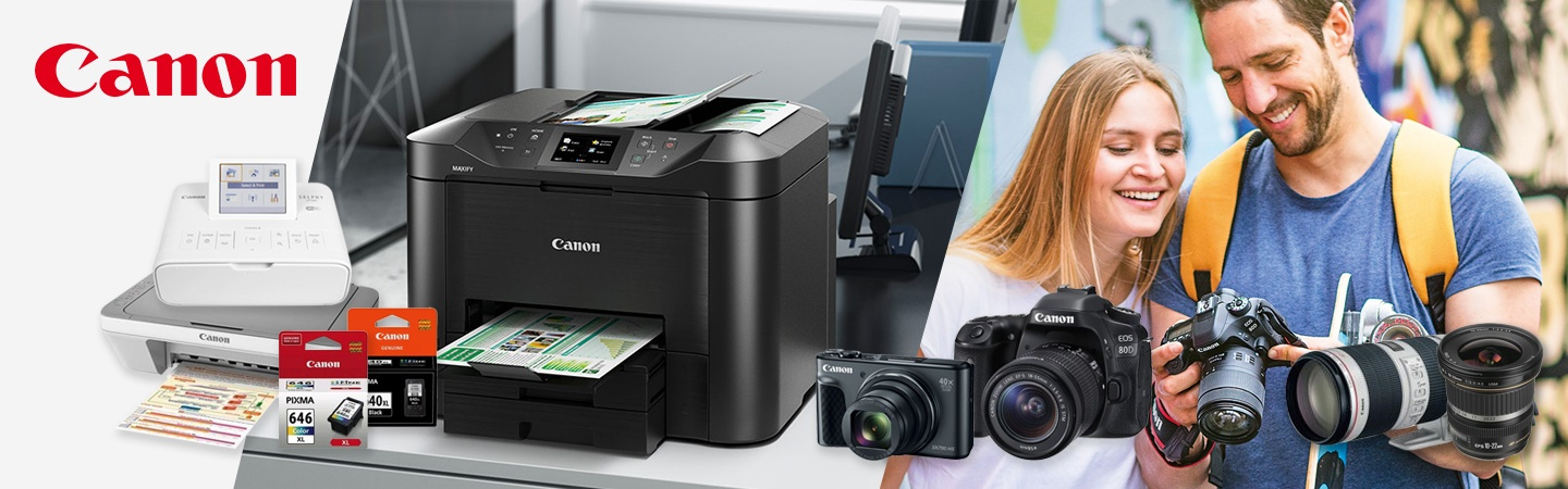 Canon store products at PB Tech