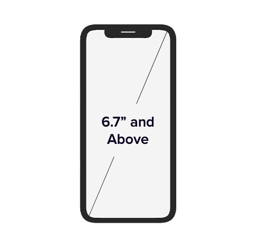 6.7 inch Mobile Phones & Above