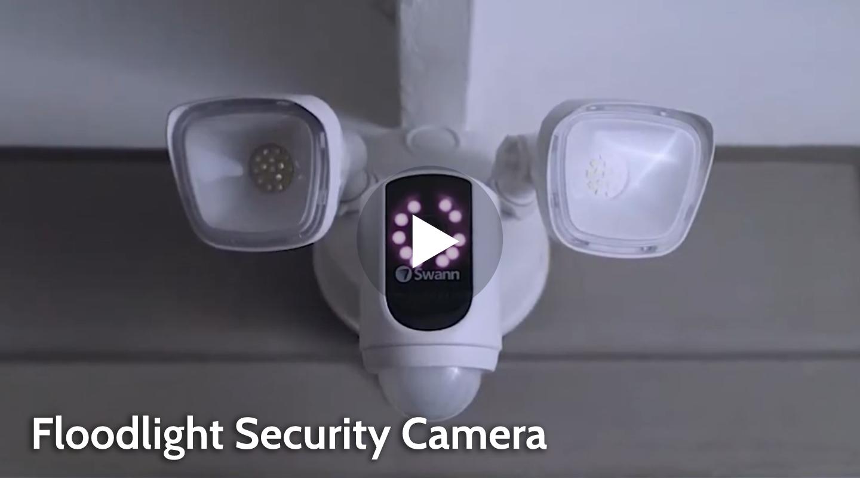 Swann Floodlight Security Camera