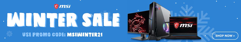 MSI Winter Sale