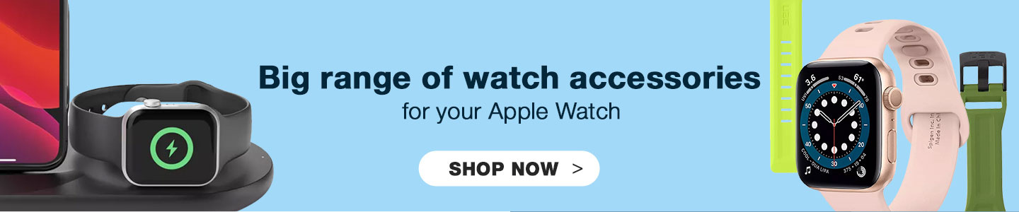 Big Range of watch Accessories for your Apple Watch