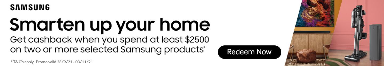 Samsung Cashback Offer