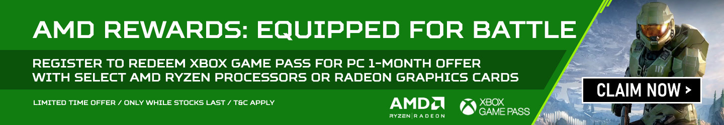 Picture of AMD Rewards Xbox Game Pass for PC offer at PB Tech