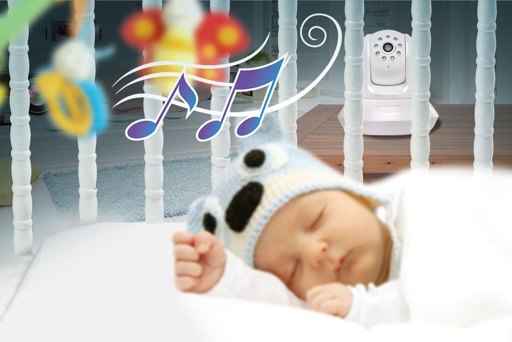Amp night pan tilt network camera ic 7113w online at pbtech co nz