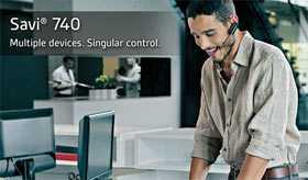 Buy the Plantronics Savi W740 Convertible Wireless Headset