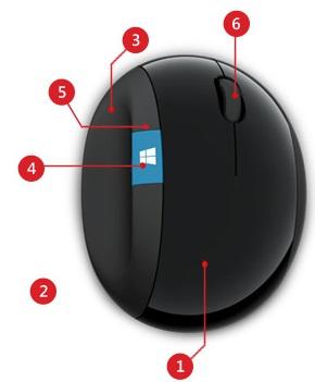 5f1090da2ee Buy the Microsoft Sculpt Ergonomic Mouse - BlueTrack - Wireless - 7 ...