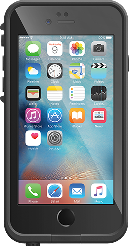 huge discount 07cc6 d62e6 Buy the Lifeproof iPhone 6/6s Fre Case-Black,Compatible with Apple iPhone 6  (4... ( 77-52563 ) online