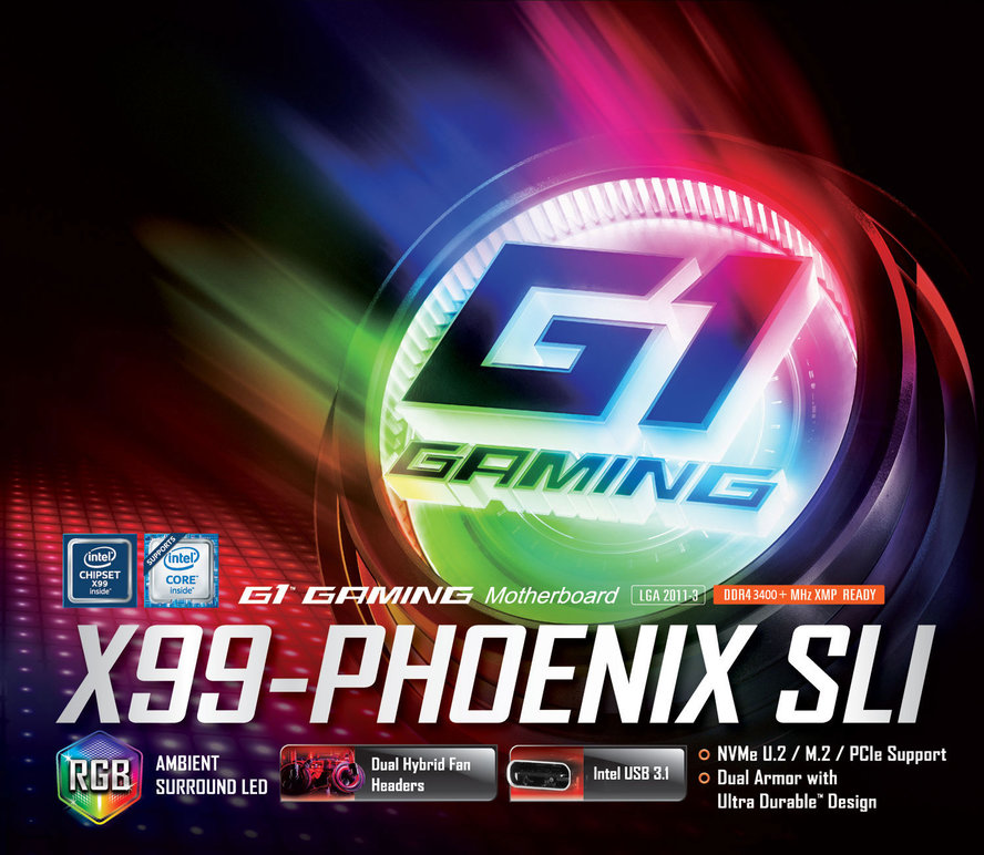 Buy the Gigabyte Remanufactured GA-X99-Phoenix SLI Intel X99