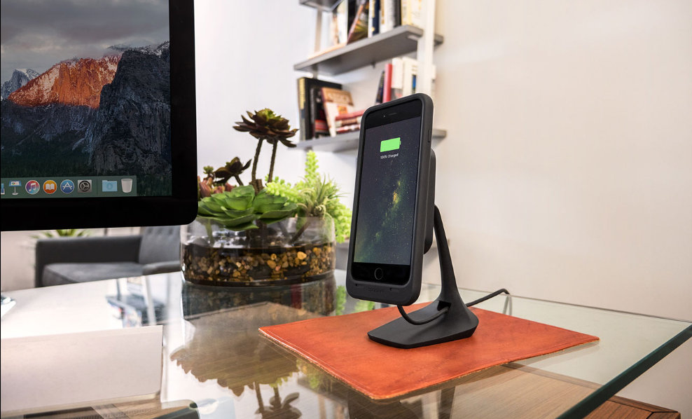 sale retailer 54574 627ca Buy the Mophie Wireless Charging Desk Mount Magnetic mounting(up to ...