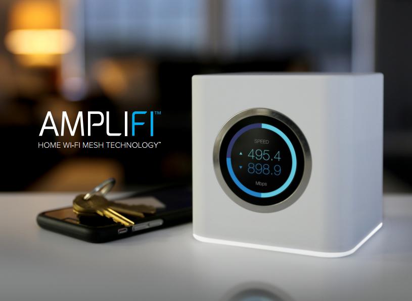 Buy the Ubiquiti AMPLIFI AFi-R Mesh WiFi Router Dual-Band AC1750, 4 x  Gigabit    ( AFi-R ) online