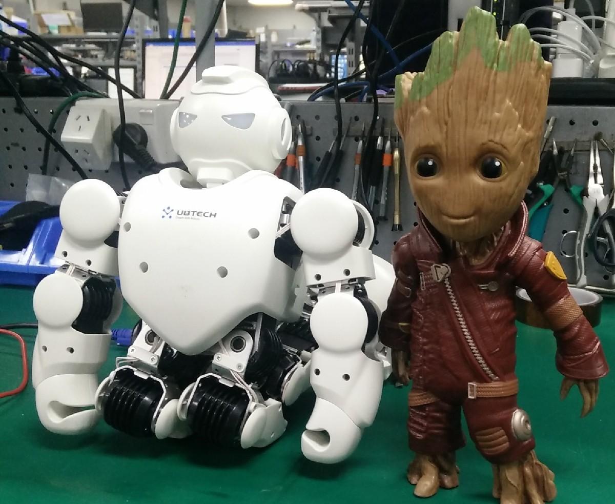 Ubtech Robots At Pbtech Nz Alpha 1s Humanoid Robot 006