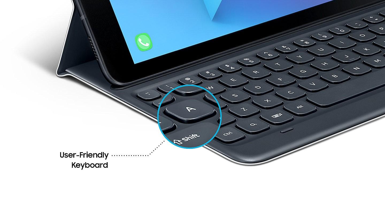 finest selection 05a67 4a765 Buy the Samsung Original Galaxy Tab S3 Bluetooth Keyboard Cover -Grey ... (  EJ-FT820USEGWW ) online