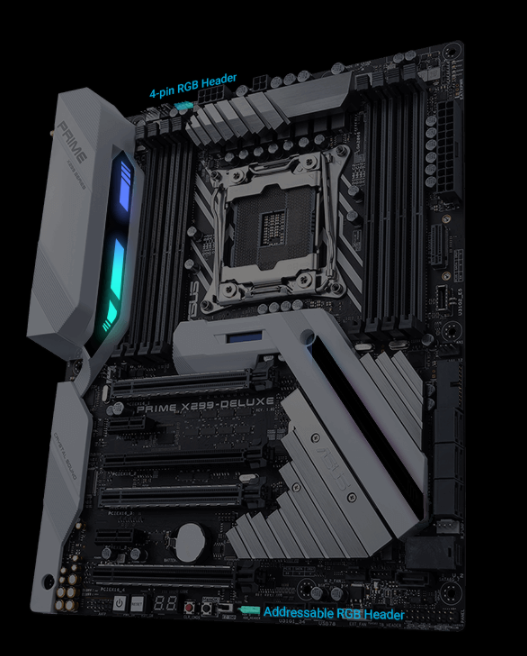 Buy the ASUS PRIME X299-DELUXE Intel X299 Chipset for Intel X series
