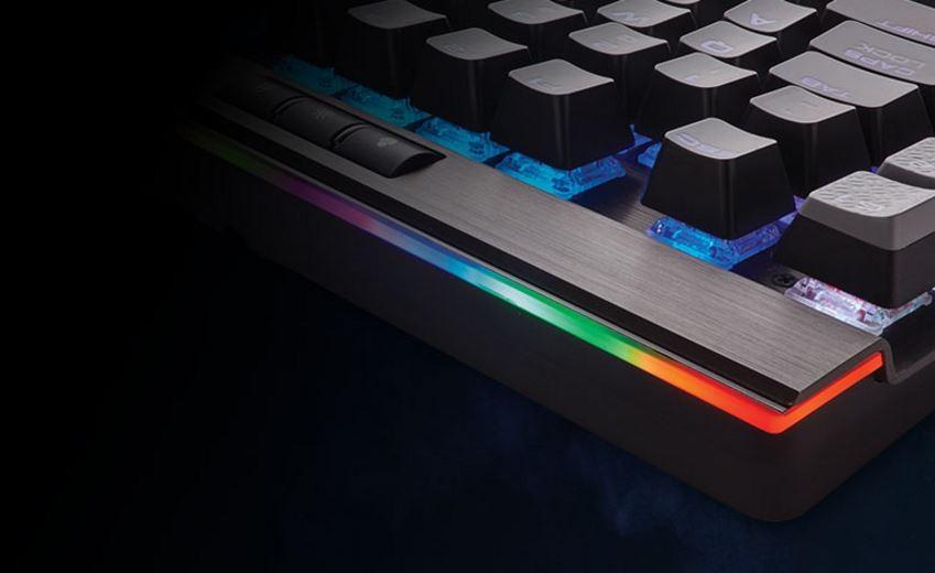 Buy the Corsair Gaming K95 PLATINUM Mechanical RGB Keyboard Cherry MX  Brown,    ( CH-9127012-NA ) online
