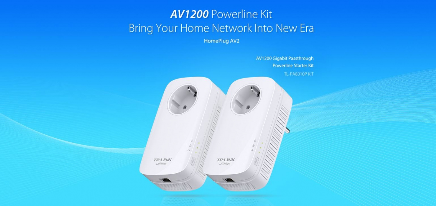 Buy The Tp Link Tl Pa8010p Kit Av1200 Powerline With Ac Pass Star Wiring Box Nz Features