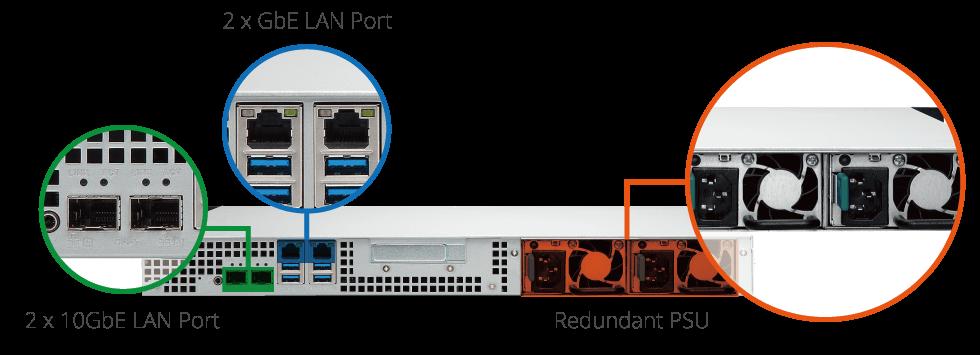 Buy the QNAP TS-431X-2G NAS Server Tower, 4x 3 5