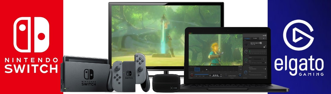 Nintendo Switch Game Streaming with Elgato HD60 - PBTech co nz