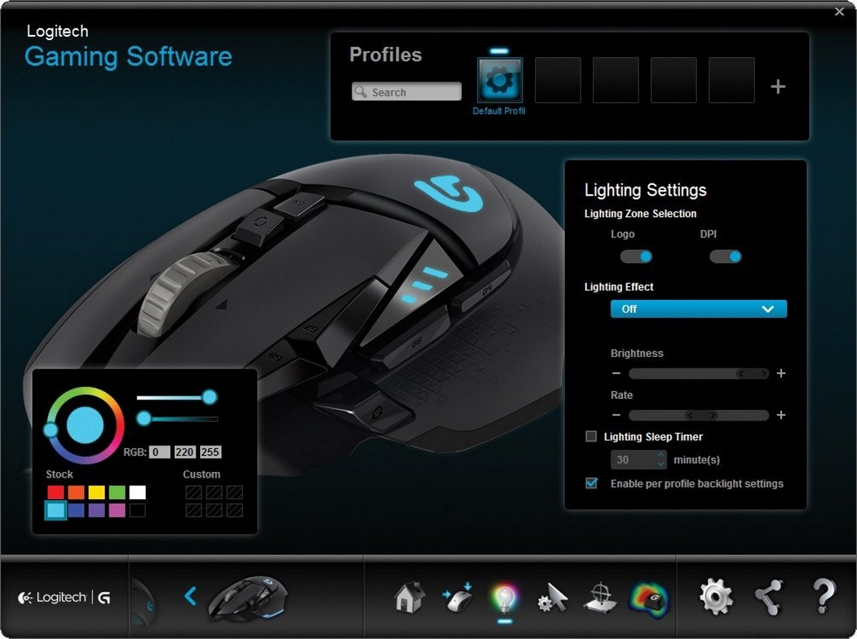 Buy The Logitech G502 Proteus Spectrum Rgb Tunable Gaming Mouse