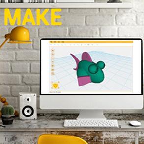 Buy the XYZ Da Vinci Mini Maker 3D Printer FDM PLA, Build Size 150 x 150 x  150    ( 3FM1XXAU00B ) online