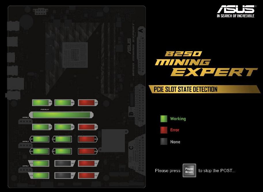Buy the ASUS B250 MINING EXPERT ATX Form Factor, For Intel
