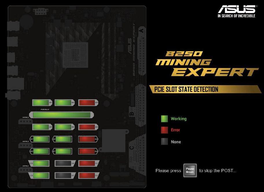 Buy the ASUS B250 MINING EXPERT ATX Form Factor, For Intel Kaby Lake  LGA1151    ( B250 MINING EXPERT ) online