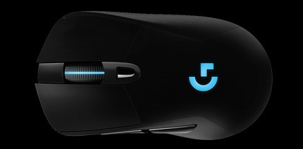 Buy the Logitech G703 RGB Lightspeed Wireless Gaming Mouse ( 910-005095 )  online