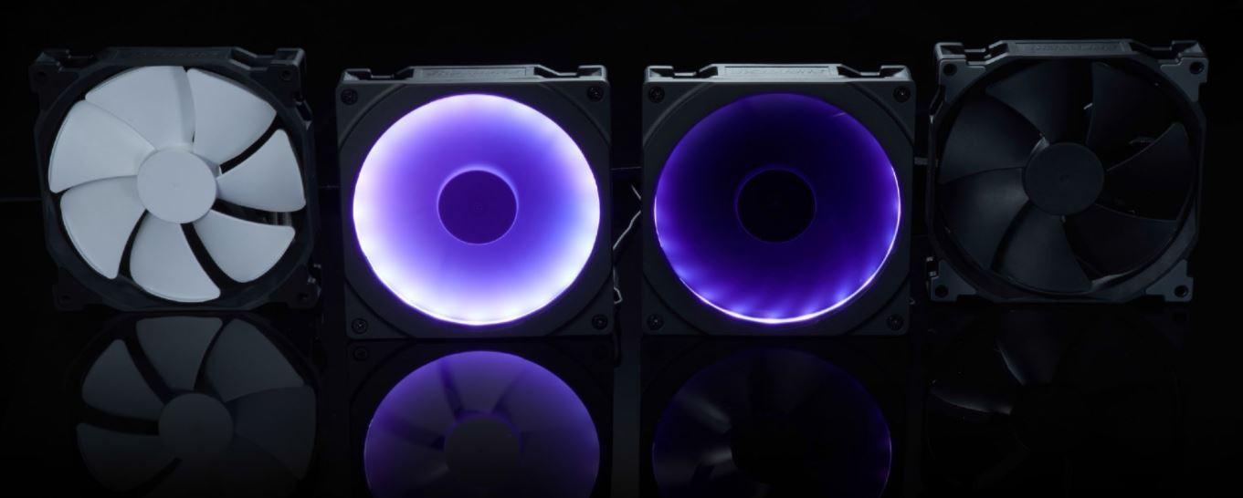 Buy the Phanteks Halos 120mm RGB LED Fan Frame Black ( PH-FF120RGBP_BK0 )  online