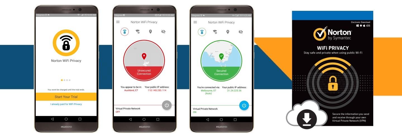 Norton WiFi Privacy at PB Tech