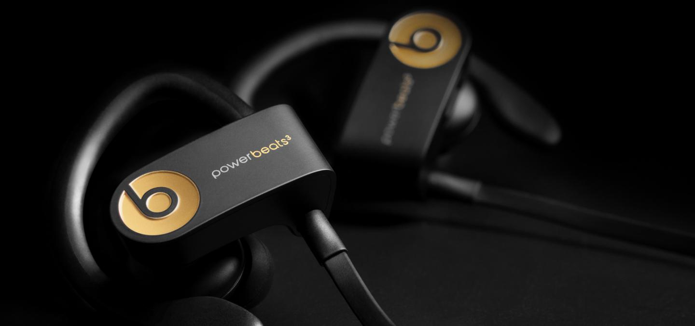 תוצאת תמונה עבור Powerbeats3 Wireless Earphones - Trophy Gold
