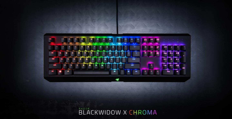 buy the razer blackwidow x chroma mechanical keyboard