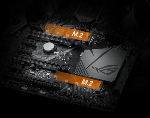 Asus ROG Strix Z370-F Gaming Motherboard - For Intel Coffee Lake LGA 1151,  RGB Lighting, Dual M 2