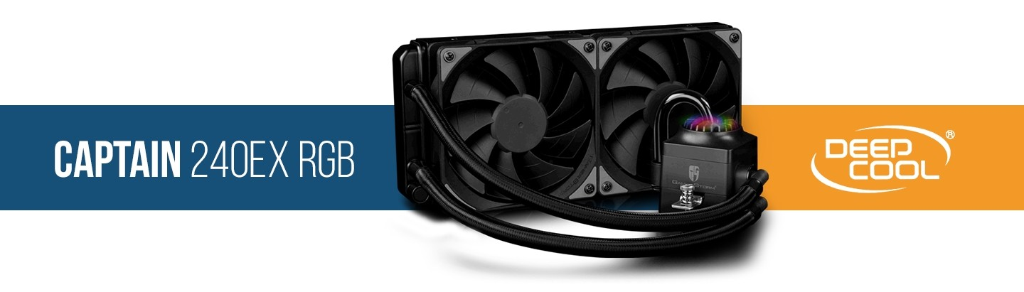 Picture of Storm Captain RGB 240mm Water Cooling Kit at PB Tech