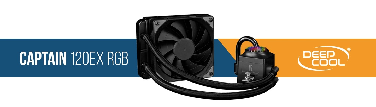 Picture of Captain RGB 120mm Water Cooling kit at PB Tech