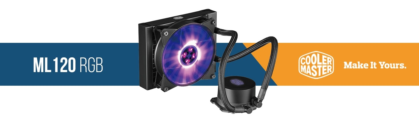 Picture of Cooler Master ML120 RGB 120mm Water Cooling Kit at PB Tech
