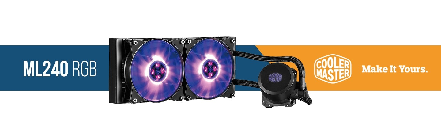 Picture of ML240 RGB Water Cooling at PB Tech