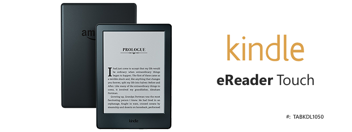 Kindle eReader Touch 8th Gen Wifi