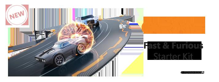 Anki Overdrive Fast 7 Furious Starter Kit