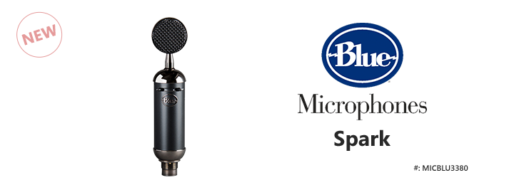 Blue Spark Blackout SL XLR Microphone