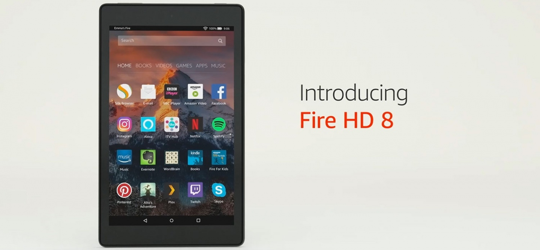 Buy the AMAZON Fire HD8 (2017) 8