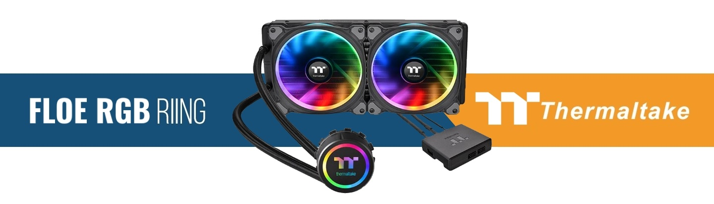 ThermalTake Floe RGB 280mm Water Cooling Kit at PB Tech