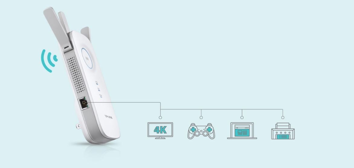 Buy the TP-Link RE450 Dual-Band AC1750 Wi-Fi Range Extender